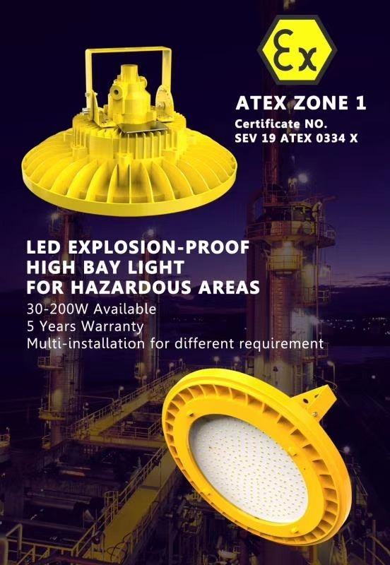 Laxapana LED explosion proof lamps
