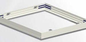 Backlit LED Panel Light | 36W | 2X2 FT | Surface mount